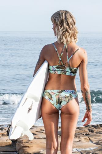 Africa Mint - Bikini Set - Diamant Back + Pant