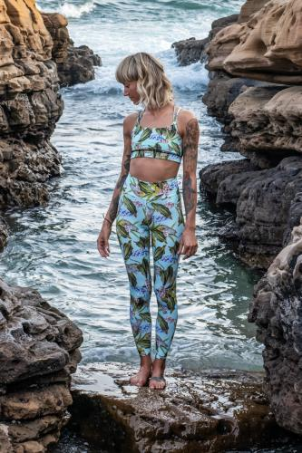 Africa Mint - Surf - Yoga - Leggings
