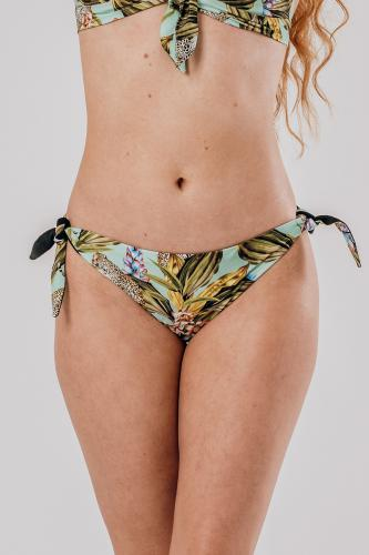 Africa Mint Bikini Bottom knotted - Reversible