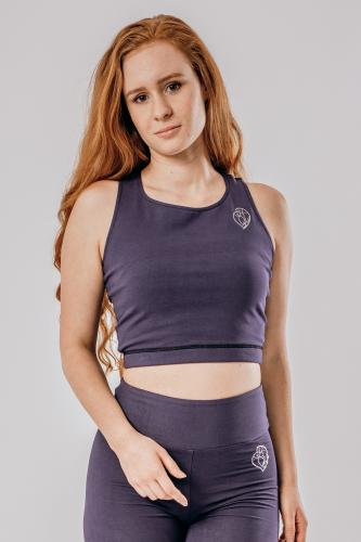 Amethyst Crop Top - sport bra