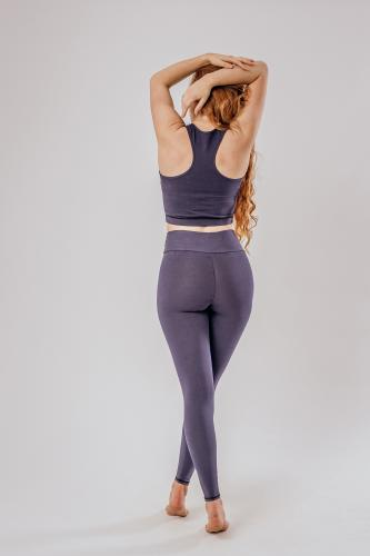 Leggings Green Jungle Detail Front