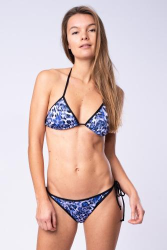 Blue Leo - Bikini Set - Triangel and Tie Thong