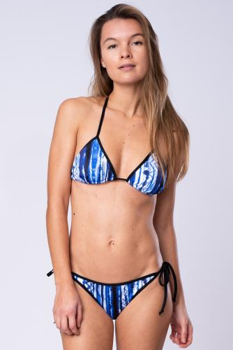 Aqua - Bikini Set - Triangel and Tie Tanga