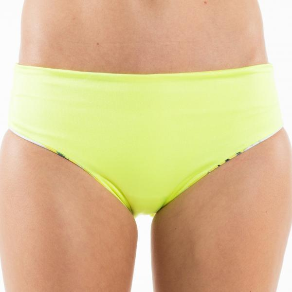 Yellow Flamingo - Reversible Bikini Set - Bustier and Pant